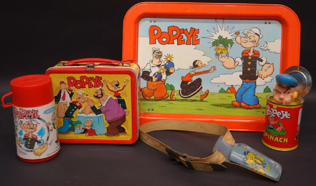 POPEYE COLLECTIBLES (4)