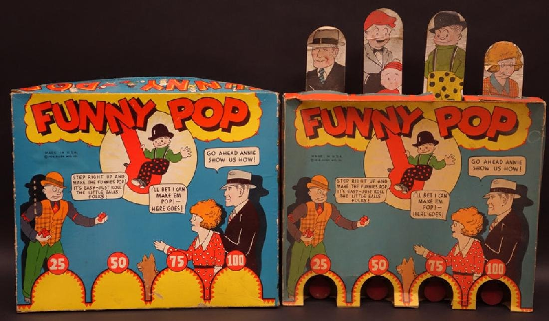 """FUNNY POP"" COMIC GAME"