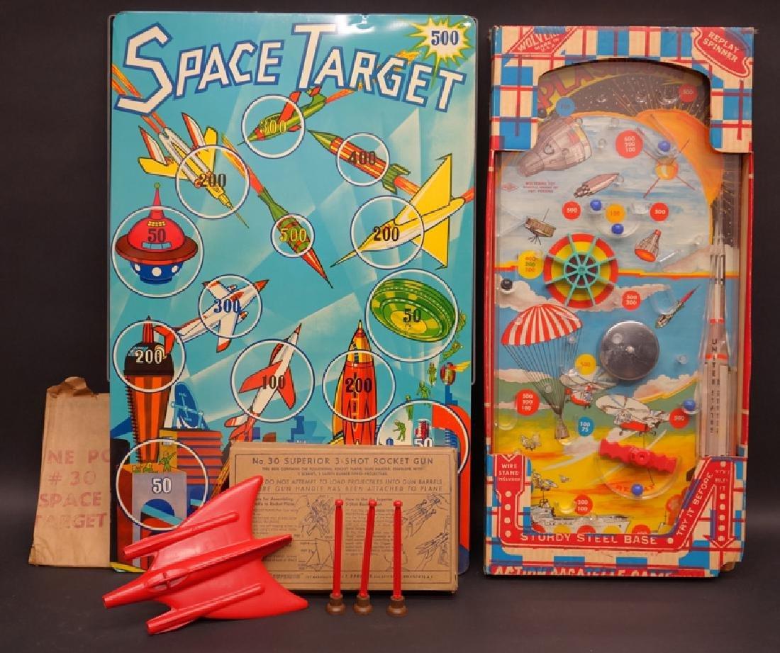 BAGATELLE & TARGET GAMES (2)