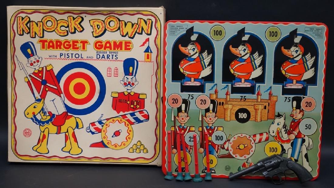 """""""KNOCK DOWN"""" TARGET GAME"""