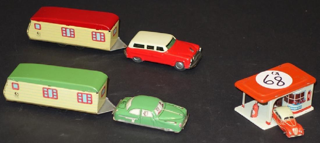 MINIATURE AUTOMOBILE TOYS (3)