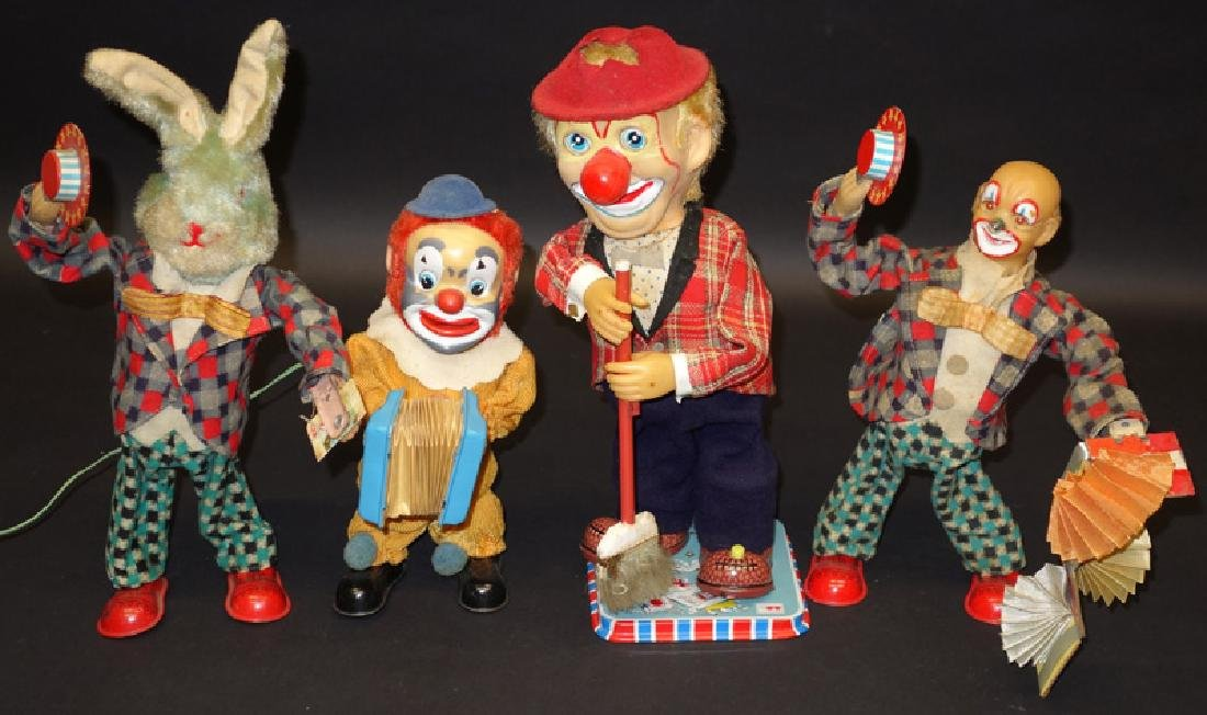 JAPANESE BATTERY OP CIRCUS TOYS (4)