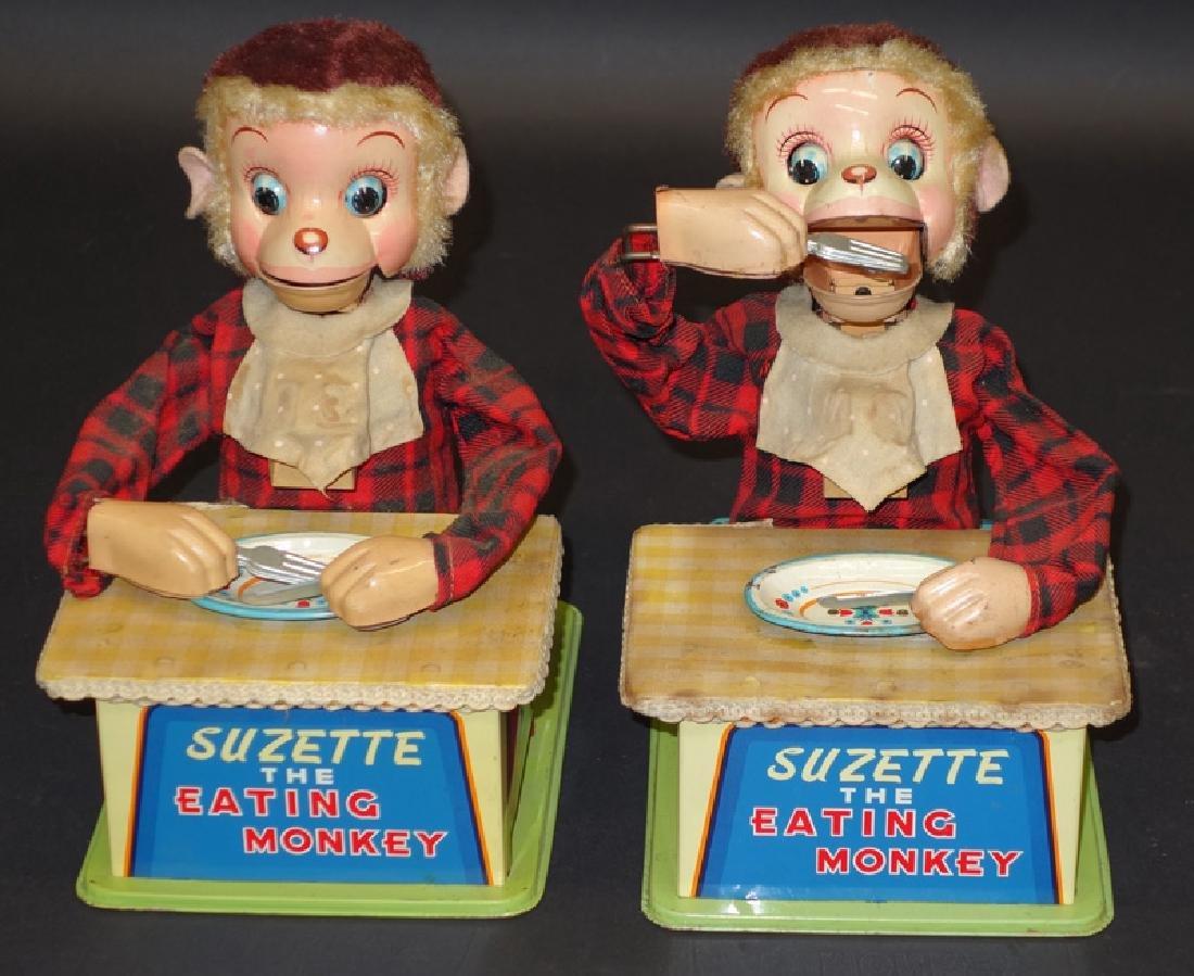 SUZETTE EATING MONKEY TOYS (2)