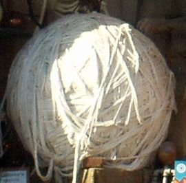 1: GIANT BALL OF STRING HAUSSNER'S REPLICA
