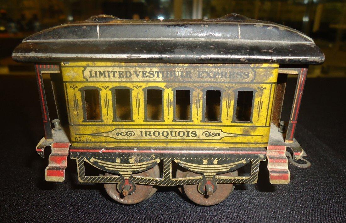 GERMAN TIN TRAIN - LIMITED VESTIBULE EXPRESS - 8