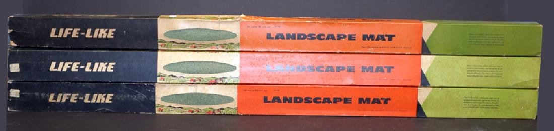 """LIFE-LIKE"" PRODUCTS LOT OF (3) LANDSCAPE MATS"