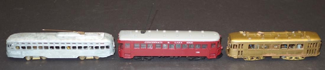 SCALE TROLLEY CARS (3)