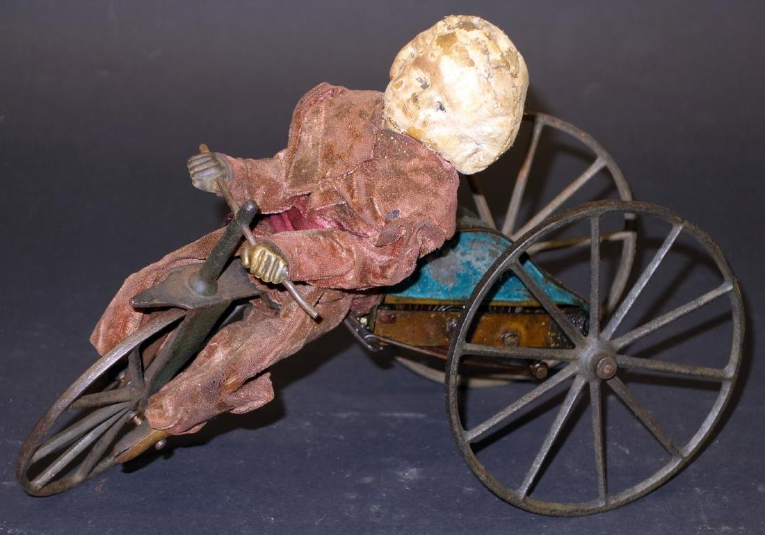 EARLY AMERICAN VELOCIPEDE TOY