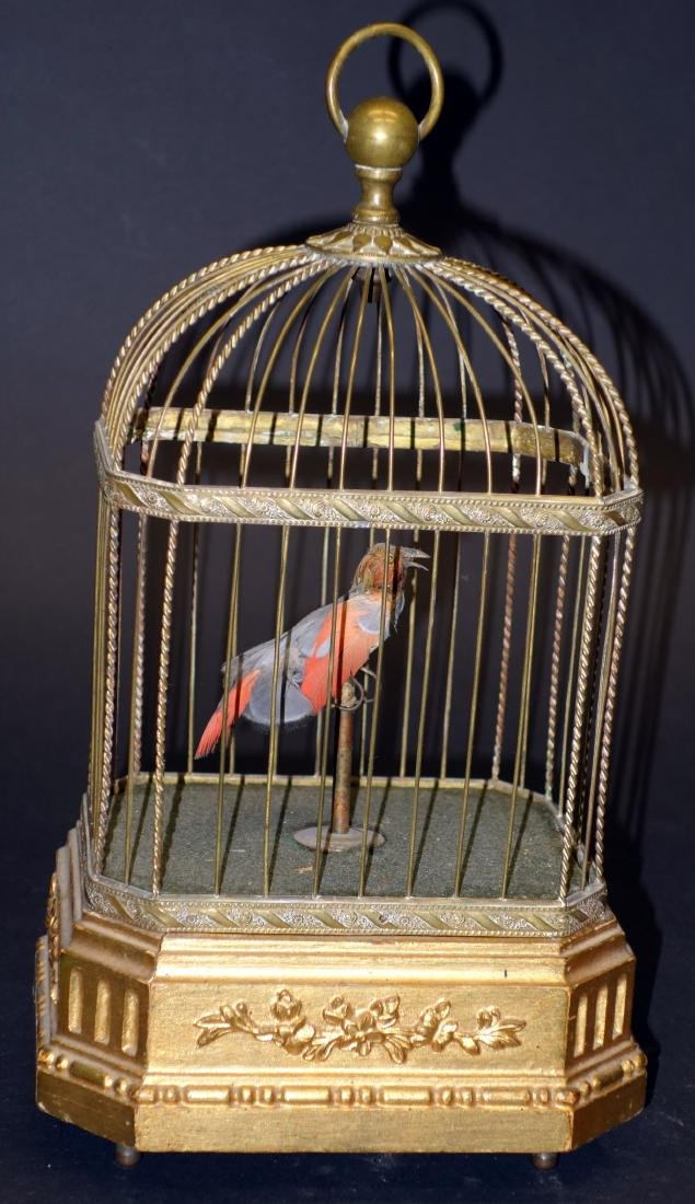 ANIMATED & MUSICAL BIRD CAGE