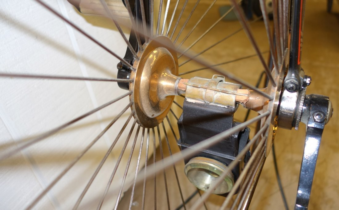 PENNY FARTHING HIGH WHEEL BICYCLE - 8
