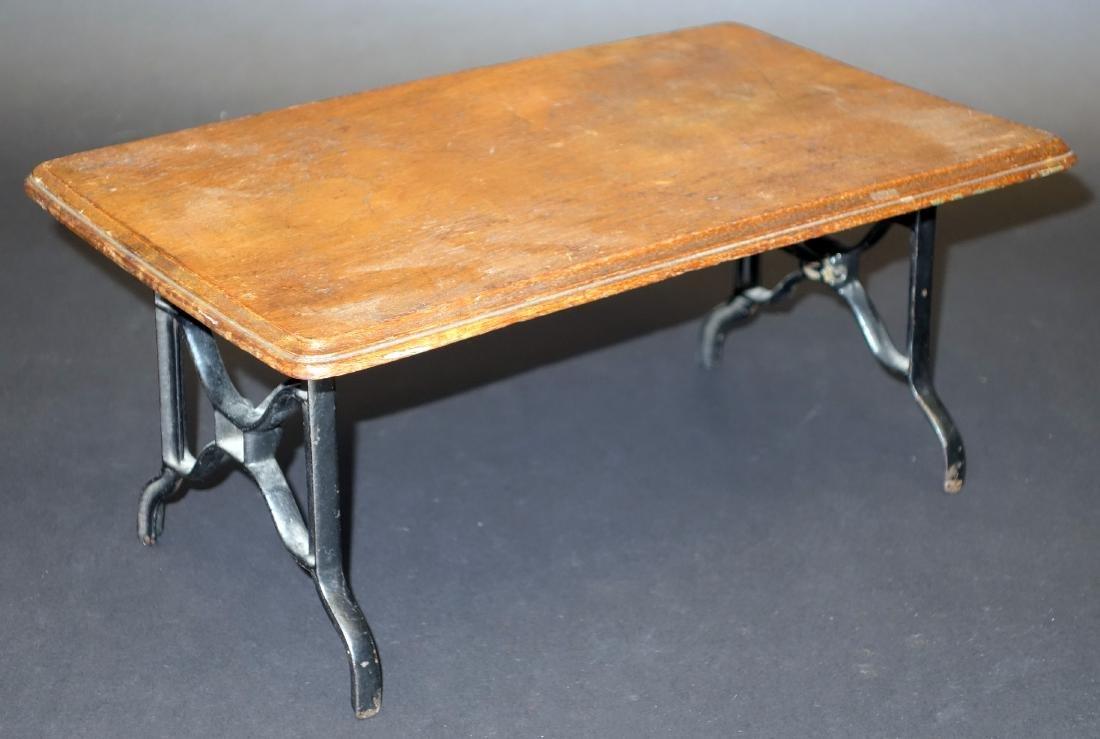 SALESMANS SAMPLE FOLDING TABLE