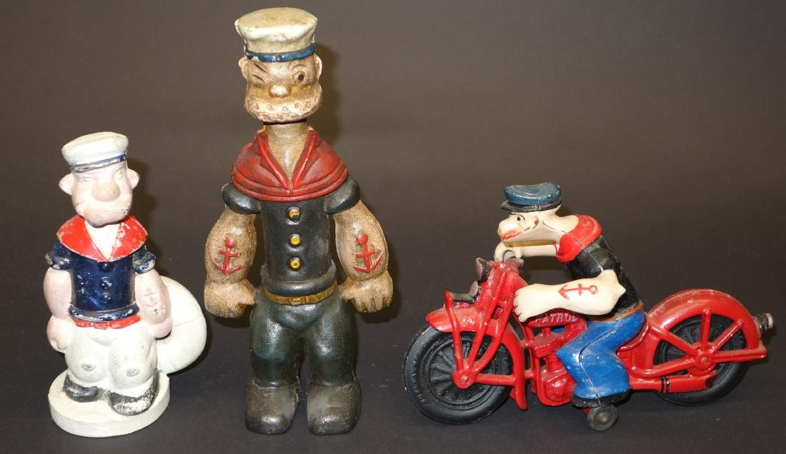 POPEYE TOYS (3) - CONTEMPORARY