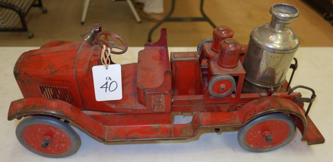 BUDDY L FIRE ENGINE - 3