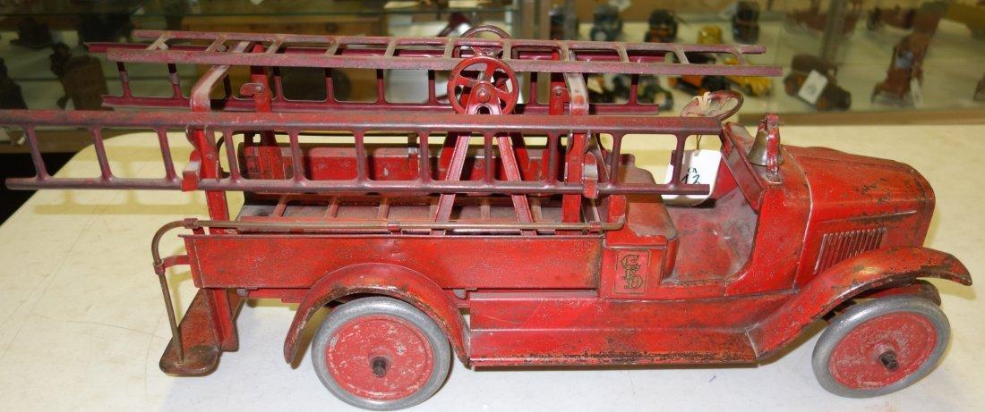BUDDY L FIRE TRUCK - 5