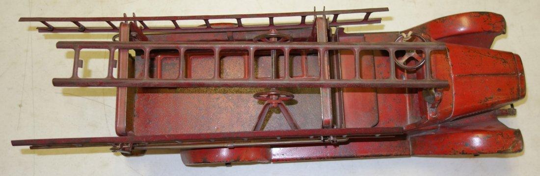 BUDDY L FIRE TRUCK - 6