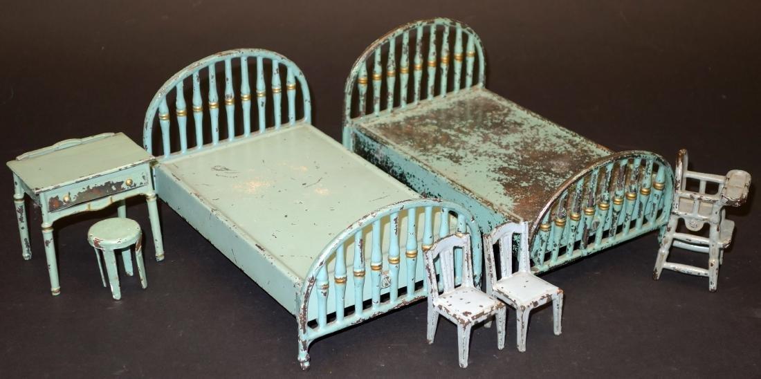 ARCADE TOY BEDROOM FURNITURE - (7) PIECES