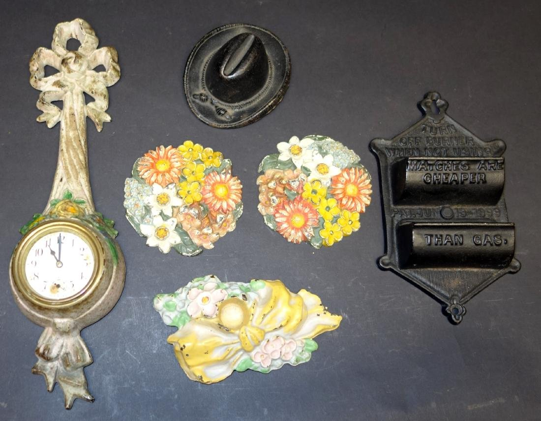CAST IRON COLLECTIBLES - (6)