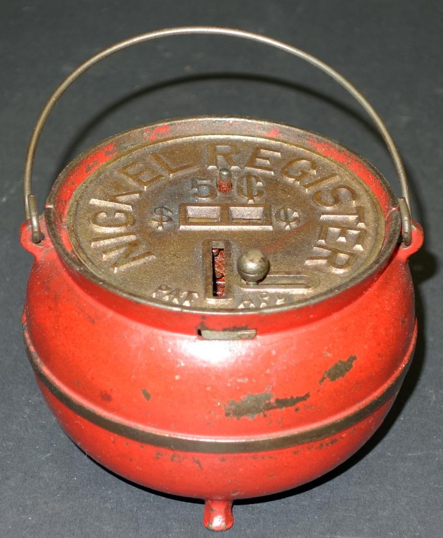 BEAN POT REGISTER BANK