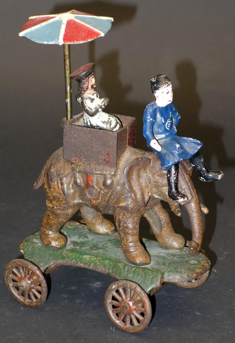 KENTON ELEPHANT with CANOPY TOY