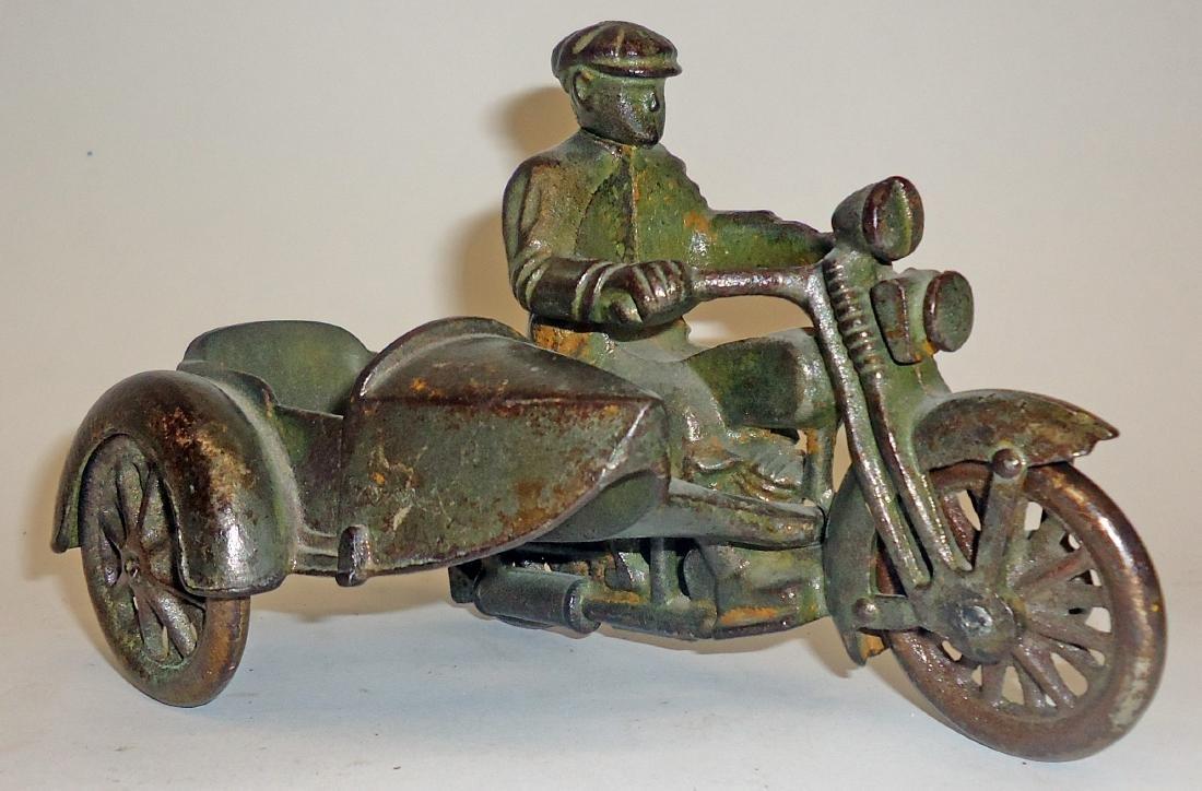 HUBLEY HARLEY MOTORCYCLE SIDECAR