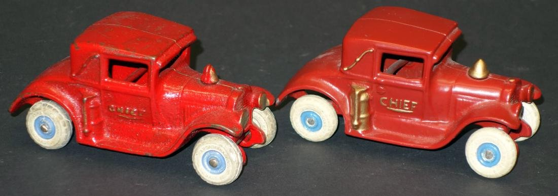 "ARCADE ""CHIEF"" CARS (2)"