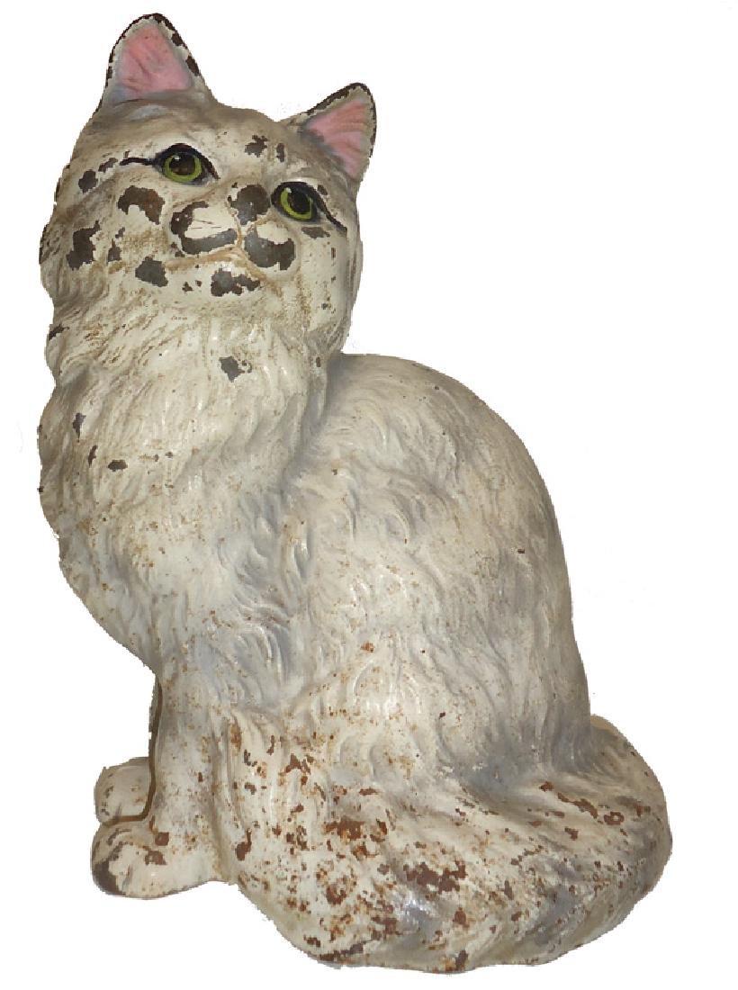 PERSIAN CAT DOORSTOP - HUBLEY