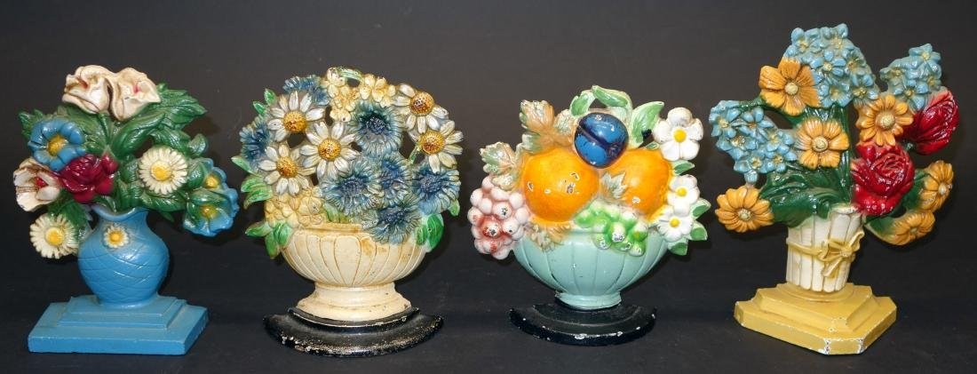 BASKETS OF FLOWERS - (4)