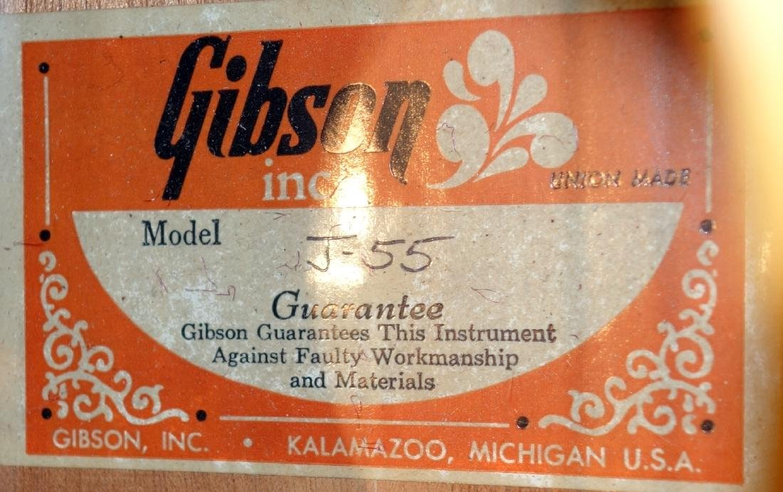 GIBSON ACOUSTIC GUITAR - 3