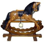 PLATFORM ROCKING HORSE