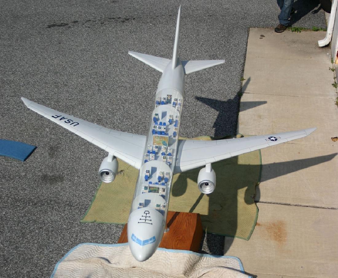 U.S. AIRFORCE TRANSPORT AVIATION CUT-AWAY MODEL