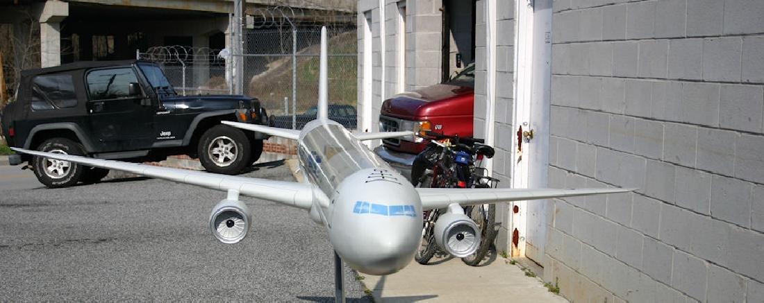 U.S. AIRFORCE TRANSPORT AVIATION CUT-AWAY MODEL - 4