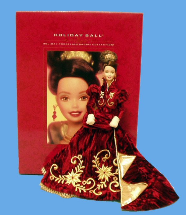 4: HOLIDAY BALL BARBIE DOLL