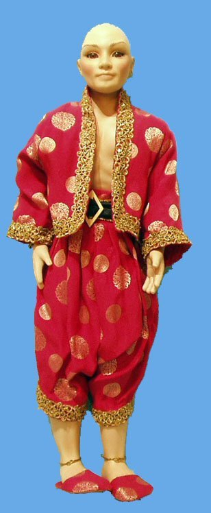 9: KING OF KING AND I BURGESS ARTIST DOLL