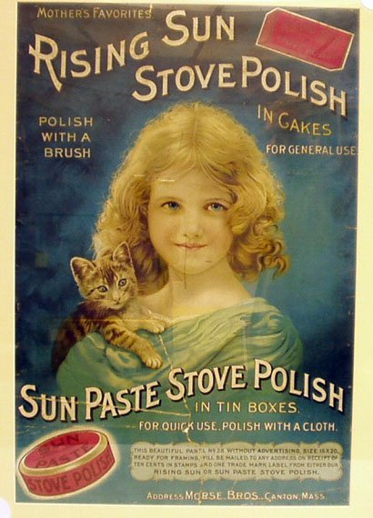 1001: RISING SUN STOVE POLISH ADVERTISEMENT