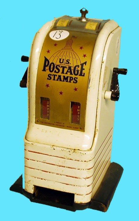 1013: U.S. POSTAGE STAMP MACHINE -