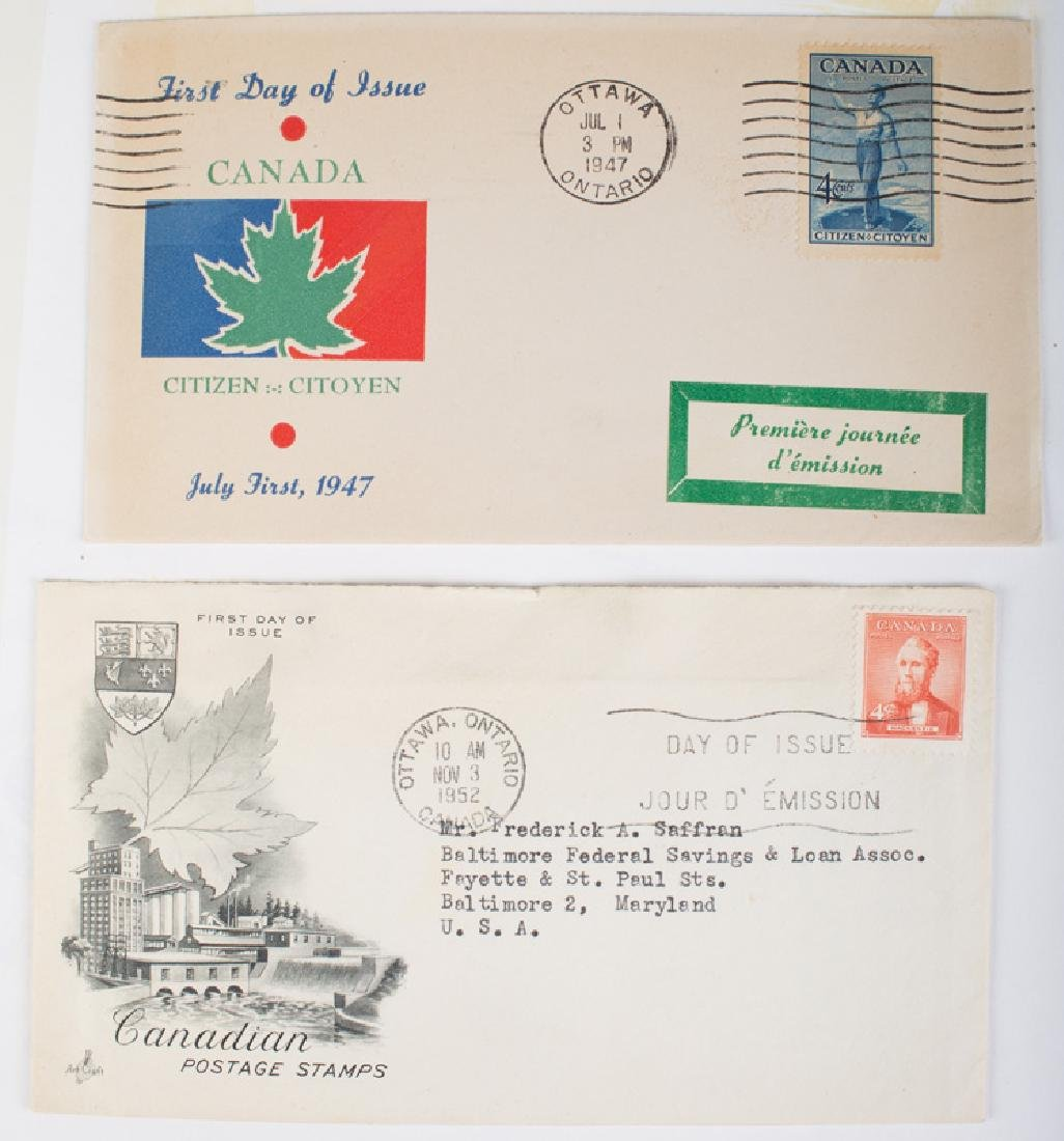 U.S. & CANADIAN FIRST DAY COVERS (3) BOOKS - 4