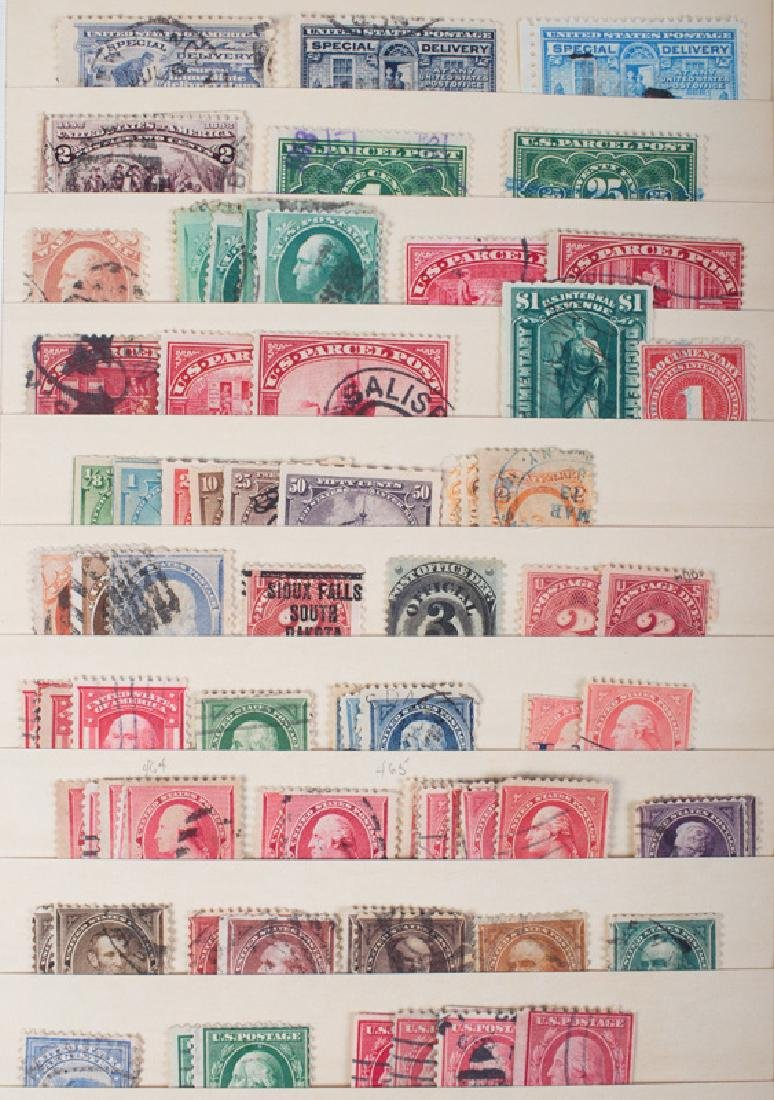 MISC. U.S. STAMPS, OLDER ISSUES, ETC.