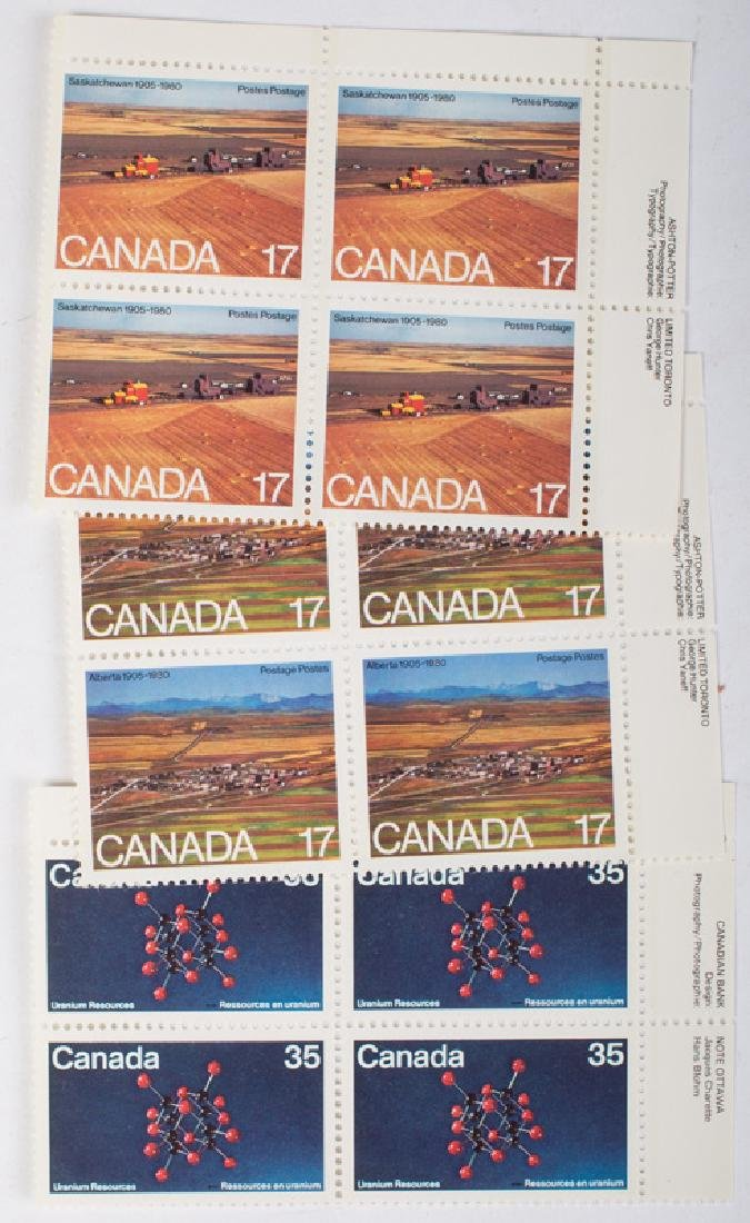 LARGE LOT CANADIAN STAMPS - 2