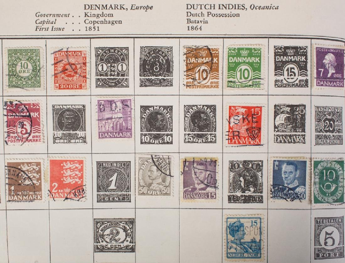 MISC. LOT U.S. & FOREIGN LOOSE STAMPS