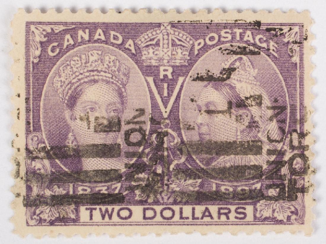 CANADIAN POSTAGE - DIAMOND JUBILEE