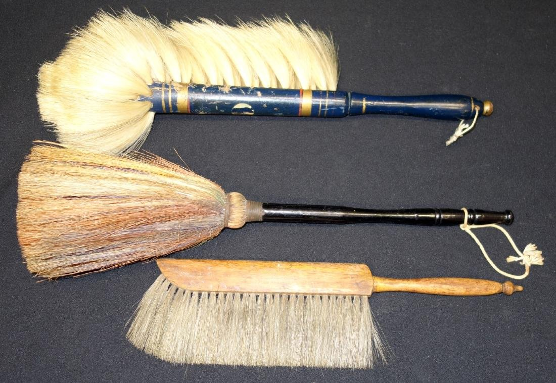 SHAKER, ETC. BRUSHES (3)