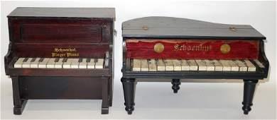 SCHOENHUT PIANOS (2)