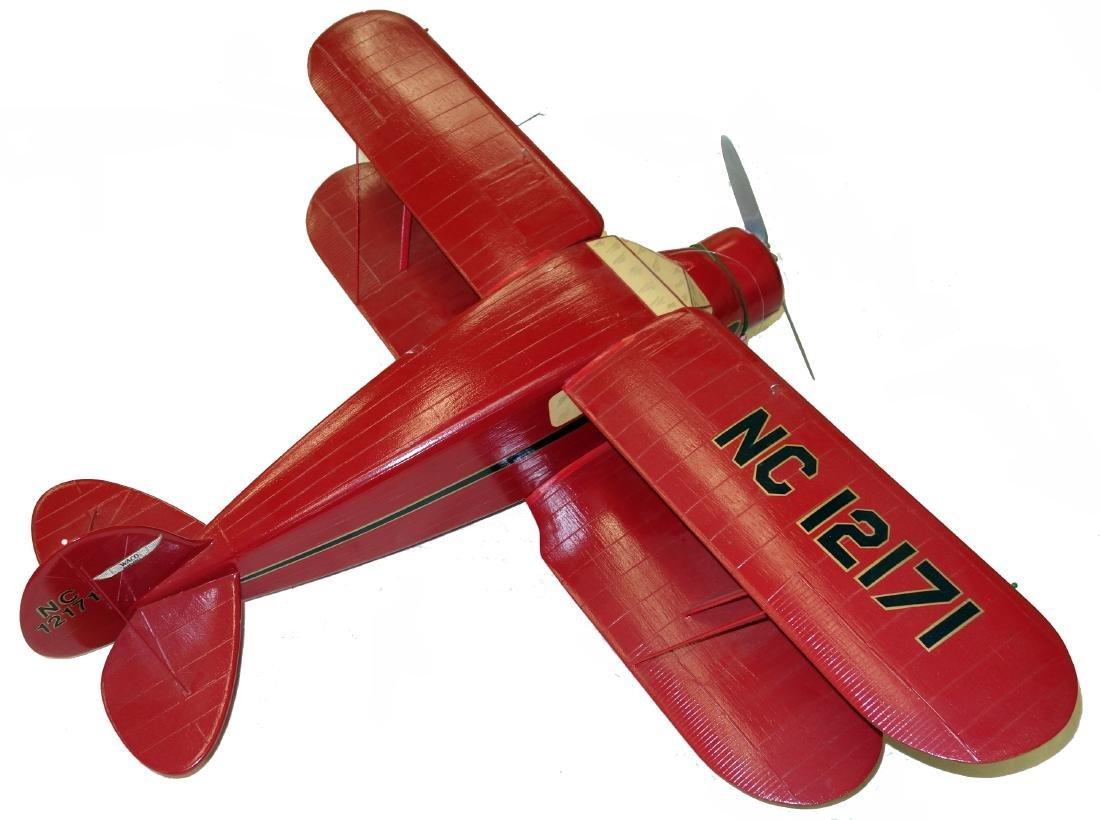 BIWING AIRPLANE MODEL