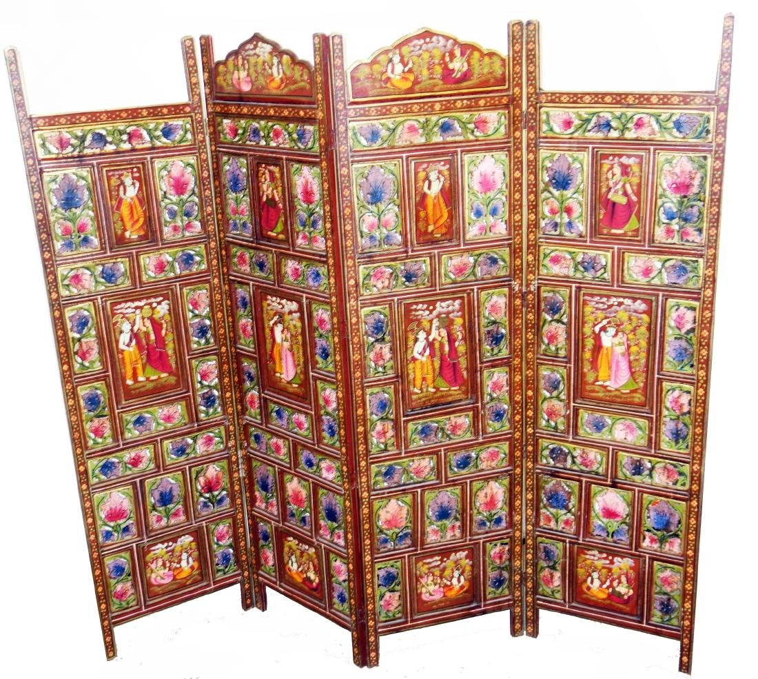 PERSIAN 4-PANEL SCREEN