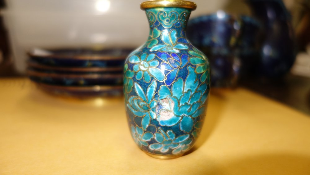 ASSORTED CLOISONNE ITEMS - 10