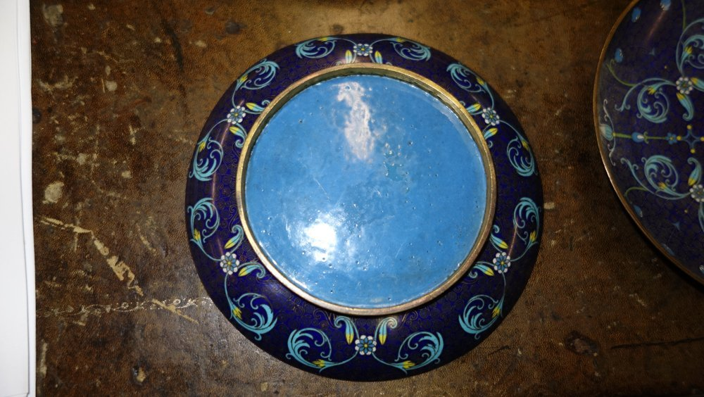 ASSORTED CLOISONNE ITEMS - 3