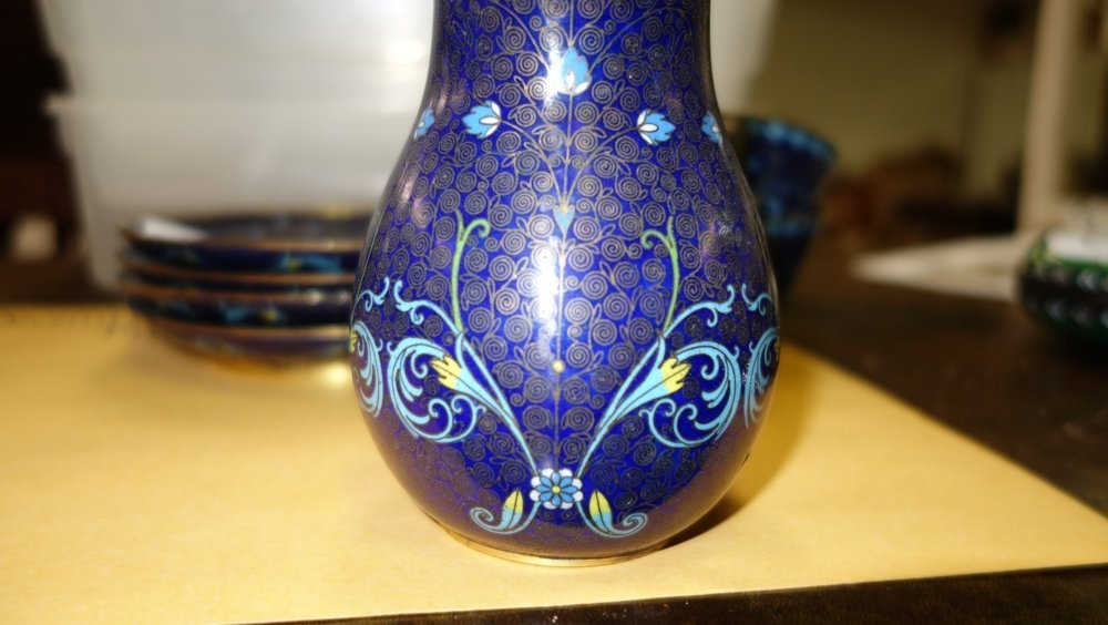 ASSORTED CLOISONNE ITEMS - 7