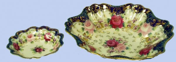 6: HANDPAINTED NIPPON BERRY SET 6 PIECES