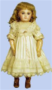 192: FRENCH BISQUE JUMEAU DOLL