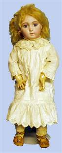 196: FRENCH BISQUE JUMEAU DOLL